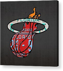 Basketball Team Acrylic Prints