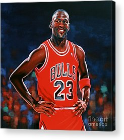 Air Jordan Acrylic Prints