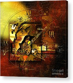 Technical Mixed Media Acrylic Prints