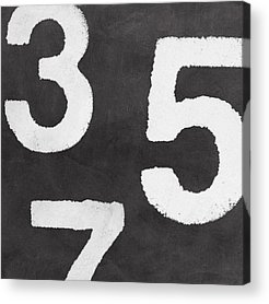 Number Acrylic Prints
