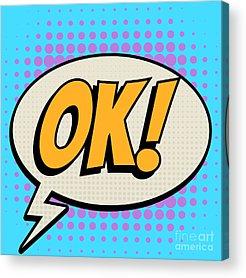 Ok Digital Art Acrylic Prints