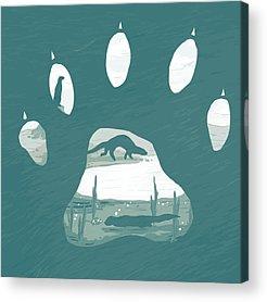Paws Acrylic Prints