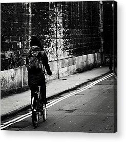 Cycling Acrylic Prints