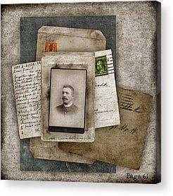 Postcards Acrylic Prints