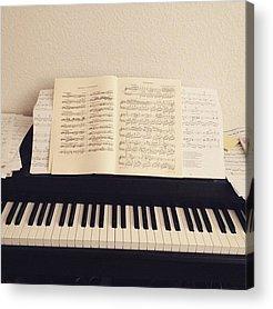 Chopin Acrylic Prints
