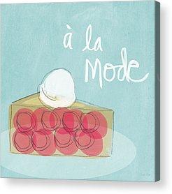 Cream Mixed Media Acrylic Prints