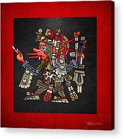 Mayan Mythology Acrylic Prints