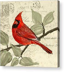 Ornithologist Acrylic Prints