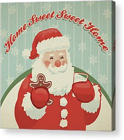 Christmas Elf Acrylic Prints