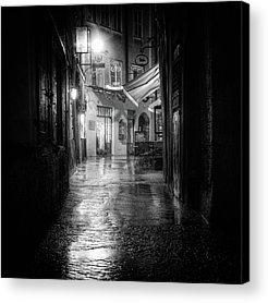 Alley Acrylic Prints