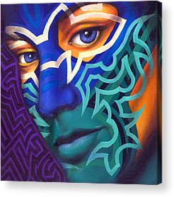 Tribal Acrylic Prints