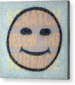 Scratch Acrylic Prints