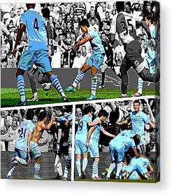 Football Acrylic Prints