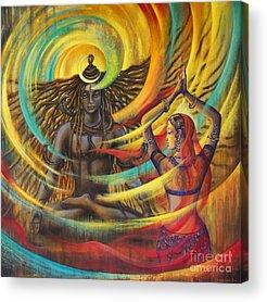 Parvati Paintings Acrylic Prints