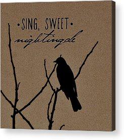 Designs Similar to Sing, Sweet Nightingale