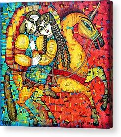 Legend Paintings Acrylic Prints