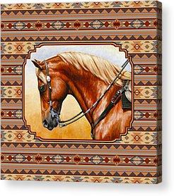 Pleasure Horse Acrylic Prints