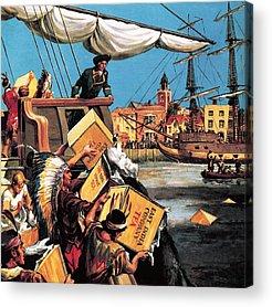 Boston School Paintings Acrylic Prints