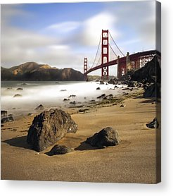 San Francisco Ca Acrylic Prints
