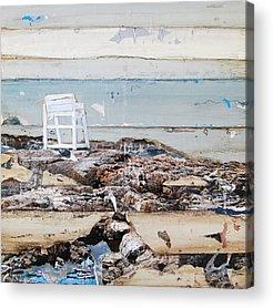 Coastal Maine Mixed Media Acrylic Prints