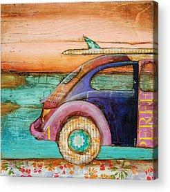 Beetle Acrylic Prints