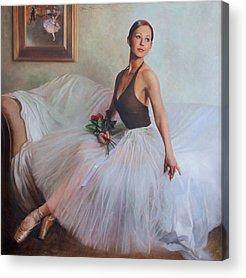 Ballet Slippers Acrylic Prints