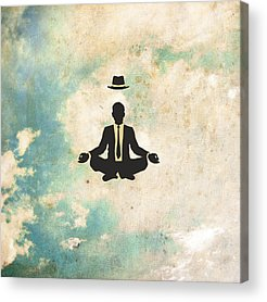 Yoga Acrylic Prints