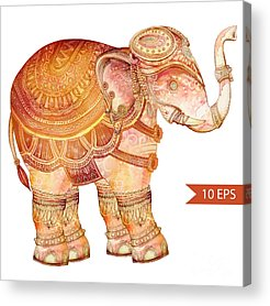 Lotus Acrylic Prints