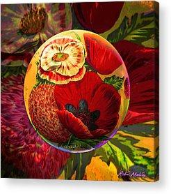 Seed Digital Art Acrylic Prints