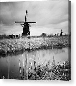 Windmills Acrylic Prints