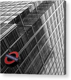 London Tube Acrylic Prints