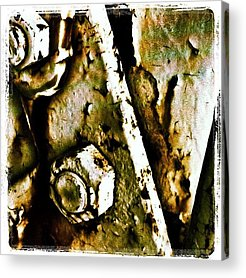Rust Acrylic Prints