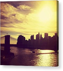 New York City Skyline Acrylic Prints