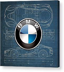 Bmw Logo Acrylic Prints