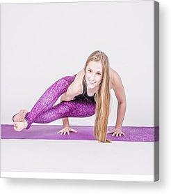 Workout Acrylic Prints