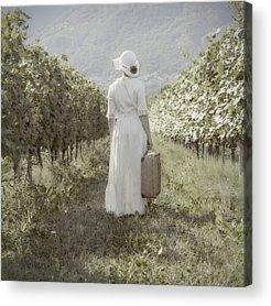 Women Photographs Acrylic Prints