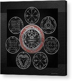 Holy Symbol Acrylic Prints