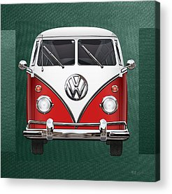 Microbus Acrylic Prints
