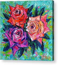Abstract Rose Acrylic Prints