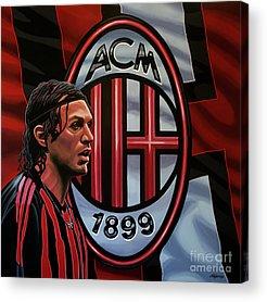 Italian Football Acrylic Prints