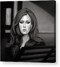 Adele Acrylic Prints