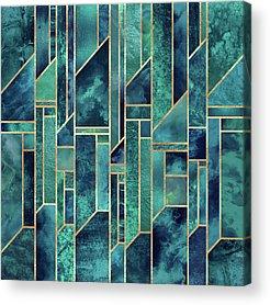 Geometry Acrylic Prints