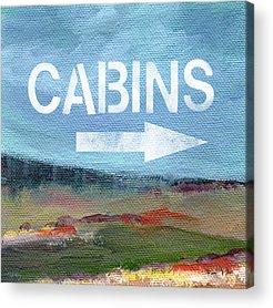 Cabin Interiors Acrylic Prints