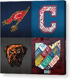 Cleveland Cavaliers Acrylic Prints