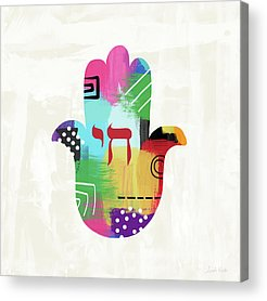 Hamsa Acrylic Prints