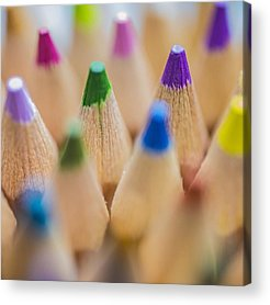 Pencil Acrylic Prints
