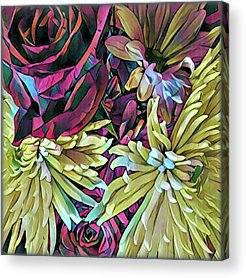 Bouquet Acrylic Prints