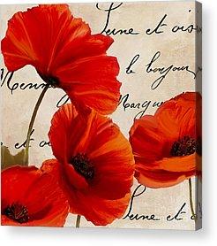 Bright Flowers Acrylic Prints