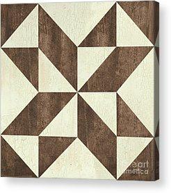 Textile Design Acrylic Prints