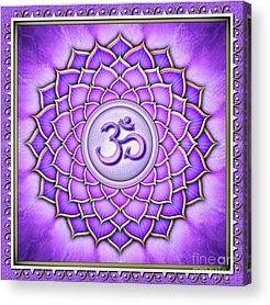 Sahasrara Acrylic Prints